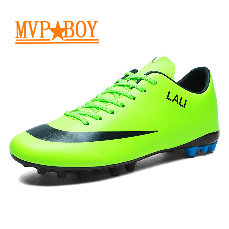 Smart 2019 Football Shoes Sneakers Men Chuteira Futsal Krampon Cr7 Scarpe Da Calcio Korki Sportowe Tacos De Futbol Men Soccer Cleats Pure White And Translucent