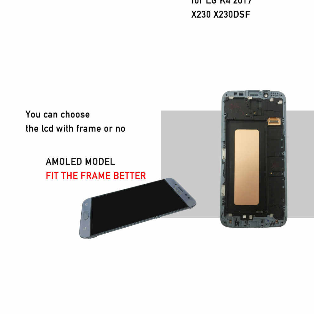 5ee48b74219 ... LCD display for Samsung galaxy J7 2017 display J7 PRO 2017 lcd AMOLED  original with touch ...