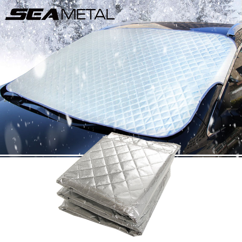 Car Windshield Cover Front Windscreen Covers Summer Heat Sun Shade Snow Ice Proof Cushion Universal Winter