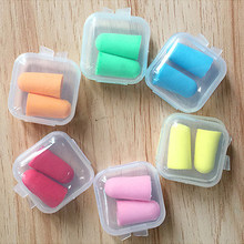 WIILII 1 Pc Mini Clear Plastic Small Box Jewelry Earplugs Storage Box Case Container Bead Makeup Clear Organizer Gift Storage(China)
