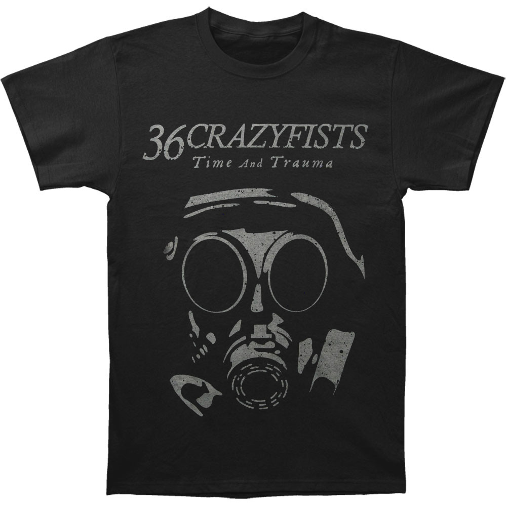 Back To Search Resultsmen's Clothing Funny T Shirt Men Novelty Women Tshirt 36 Crazy Fists Gas Mask T-shirt
