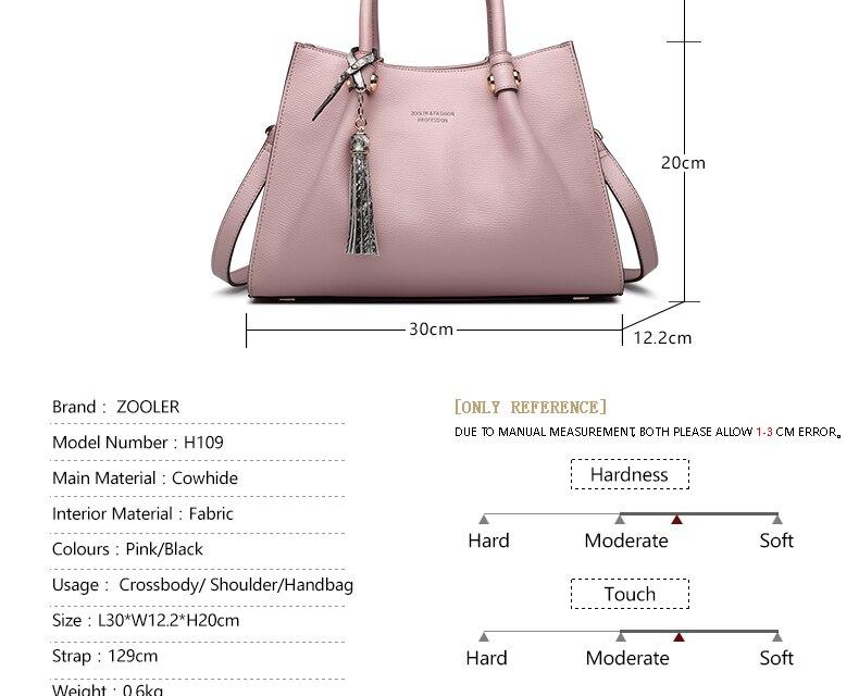 db6c63fe81 ヾ(^▽^)ノLIMITED  ZOOLER 2018 woman leather bag luxury elegant ...