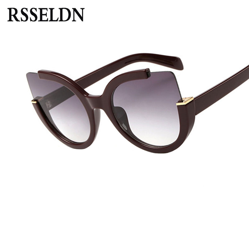 9084aa0b11 RSSELDN Transparent Women Eyeglasses frames Fashion Square Cat Eye Glasses  Frame Women Brand Design Trendy Lunettes Vintage 3077