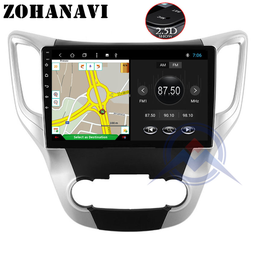 10 2 inch RAM 2GB OctaCore Android 8 1 auto radio stereo For Changan CS35 car