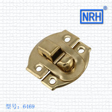 Gold Hardware Accessories Gift Box Buckle Lock Buckle Buckles Suitcase Button Box Carton Box 6469(China)