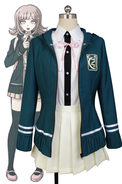 Anime DanganRonpa Cosplay Chiaki Nanami Uniform Halloween Carnival Cosplay Costume Made