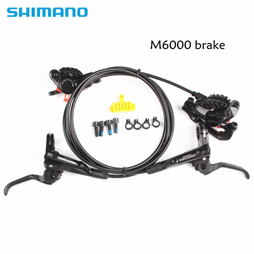 SHIMANO DEORE M6000 Brake Mountain Bikes Hidraulic Disc Brake MTB BR BL-M6000 DEORE Brake 800/1400 Left & Right
