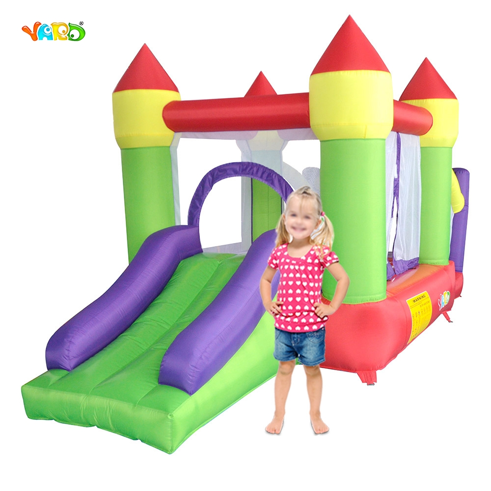 YARD Kids Best Gift Bouncy Castle Outdoor Moonwalk Ball Pit Inflatable Slide Combo Inflatable Castle for Kids Games super funny elephant shape inflatable games kids slide toy for outdoor