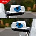 New 3D Dos Desenhos Animados Engraçado Eye Chrome Emblema Do Emblema Do Decalque Etiqueta do Carro Motocicleta Acessórios Do Carro Adesivos Decorativos