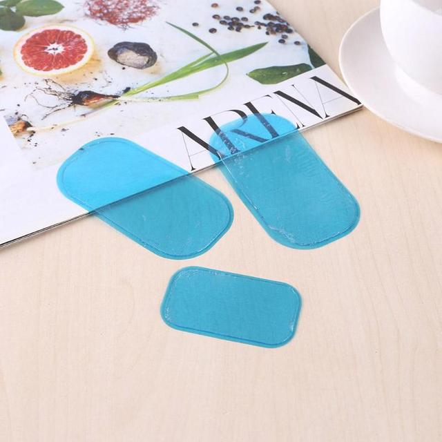 1/2 Set Replacement Gel Pads For EMS Trainer Weight Loss Abdominal Muscle Stimulator Exerciser Replacement Massage Gel 2