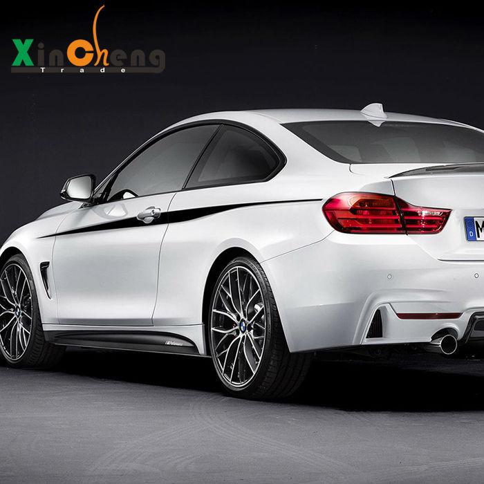 Линия талии тело рисунок цветов украсили модифицированный автомобиль наклейки для BMW 2 и 4 серии M235i M220i 428i 435i Ф22 автомобиля-стайлинг