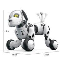 New 2.4G Wireless Smart Remote Control Robot Dog Electronic Pet Animal Kids Educational Toys Kids Toys Dancing Robot Dog W088
