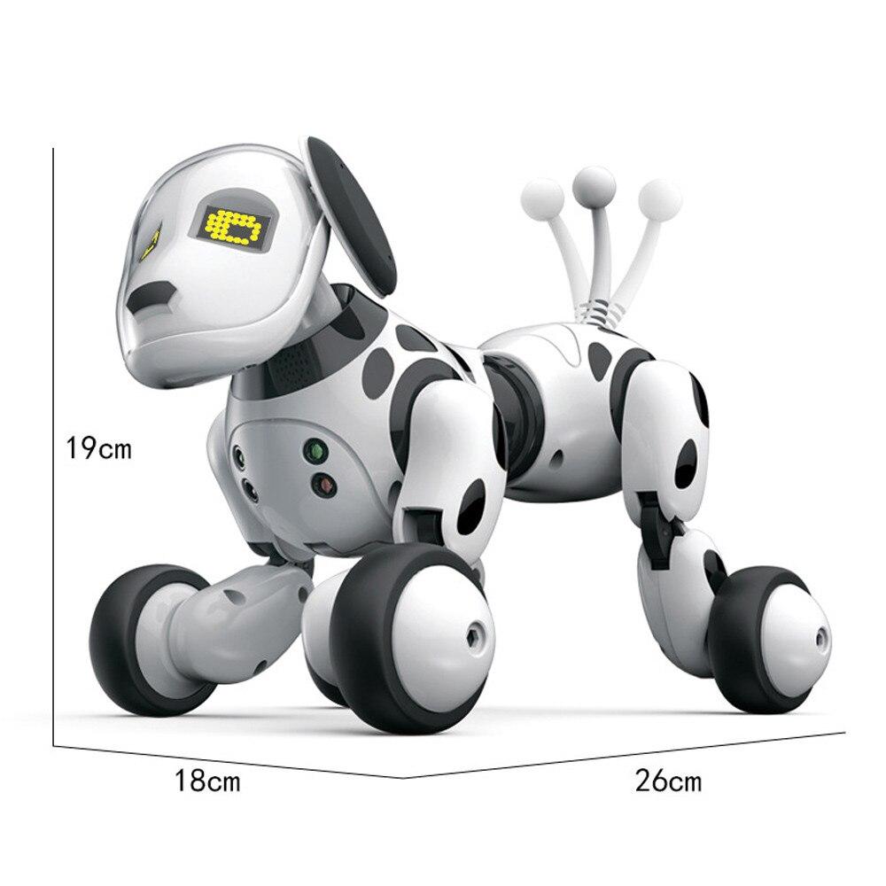 Nouveau 2.4g Sans Fil Intelligent Télécommande Robot Chien Électronique Pet Animaux Enfants Jouets Éducatifs Enfants Jouets Danse Robot Chien w088