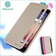 NILLKIN для LG X Мощность K220 K220ds K220Y случае Высокое качество искусственная кожа случае роскошный кожаный Smart Cover 5.3 »для LG X Мощность
