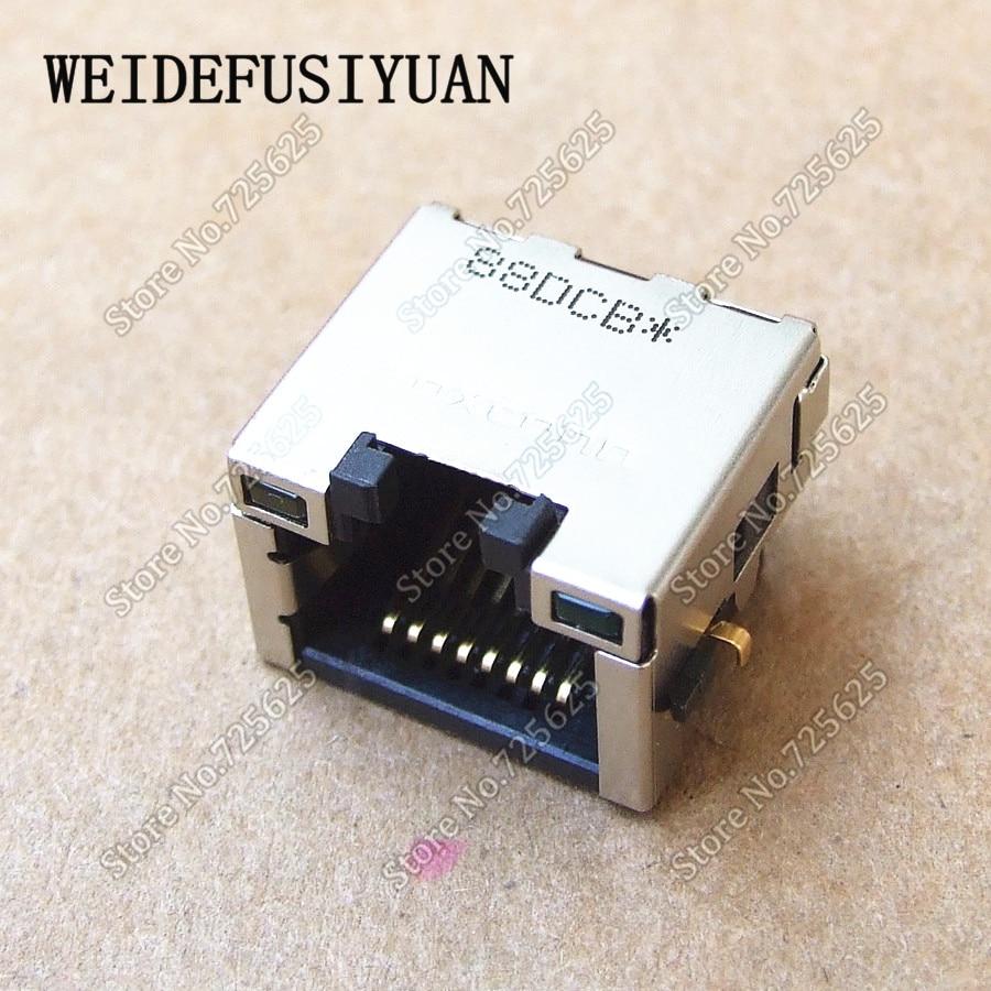 Module de carte de Port LAN Ethernet pour ordinateur portable HP 8440 P 8540 P 8540 W connecteur réseau LAN pour ordinateur portable prise RJ45