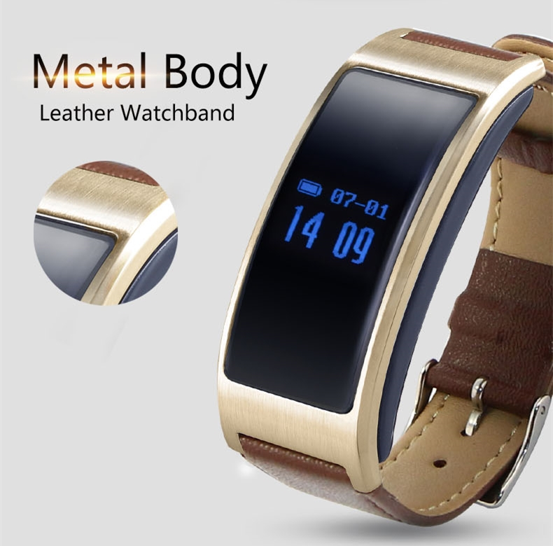 K18 Bluetooth Smart band With Heart Rate Monitor Pedometer Sleep monitoring For IOS Android Smartphone