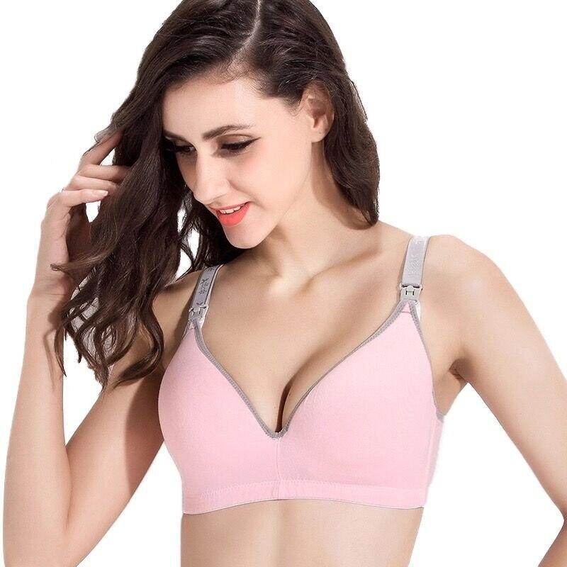 ZTOV New Breastfeeding cotton Maternity Nursing Bra sleep bras for nursing pregnant women soutien gorge allaitement underwear