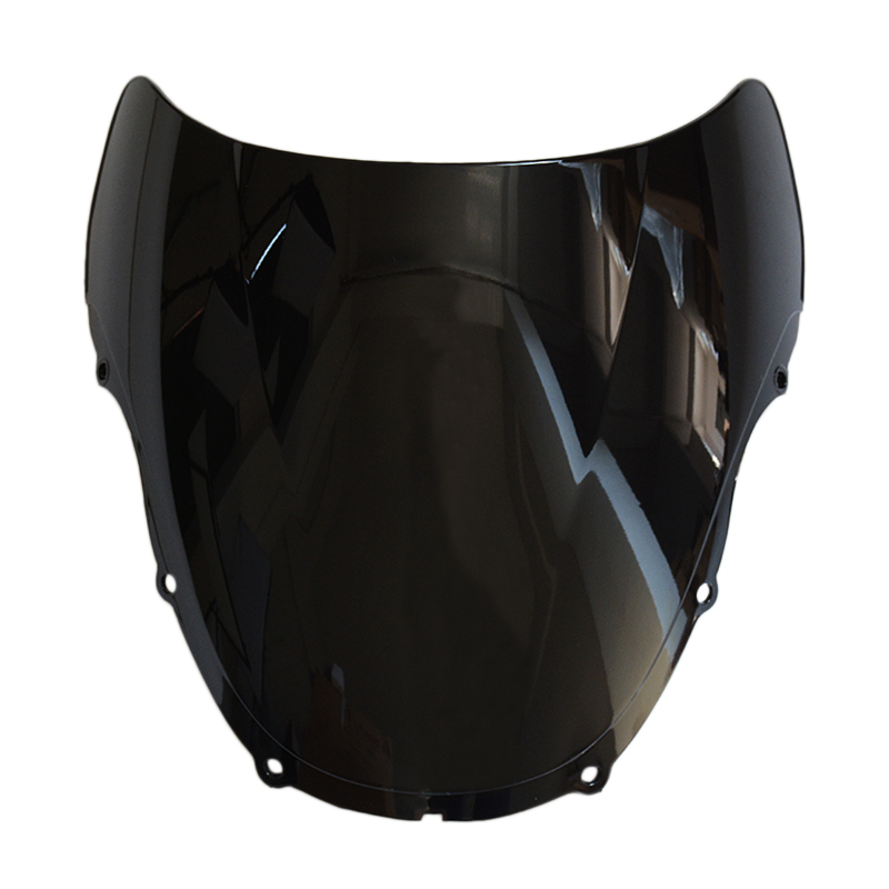 Motorcycle Windshield Windscreen For Honda CBR600 CBR 600 F4 1999 2000 ABS custom injection bodywork motorcycle fairing kit for honda red black cbr 600f4 cbr600 f4 1999 2000 cbr600f 99 00 fairngs kits