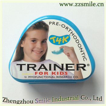 One Piece Pre-Orthodontic Trainer Blue Color  for Kids  T4K