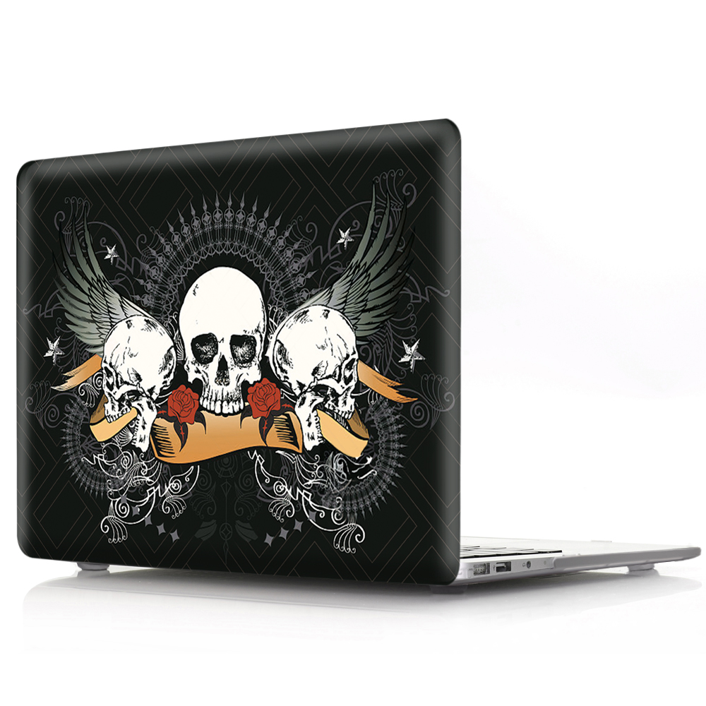 New Cover For MacBook Retina 12 13 15 Laptop Cover A1534 A1502 A1398 Cartoon Halloween Hard PC for mac book Retina 12 13 15 Case (4)