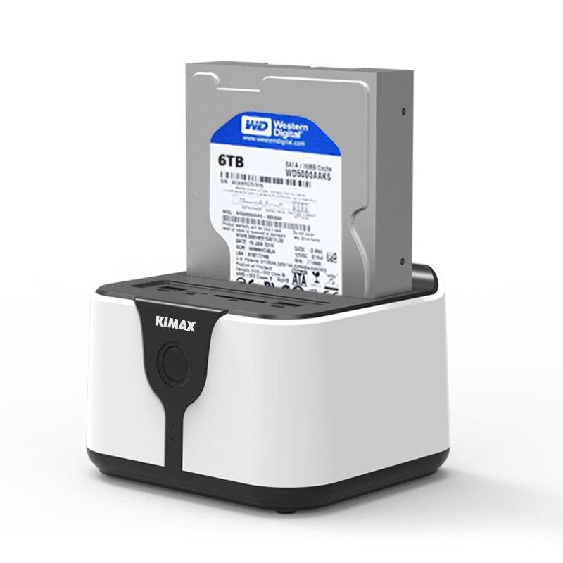 2016 nouveau disque dur 3.5 2.5 à usb 3.0 1 bay SD TF SATA à 6 TB dans WiFi Routeur de stockage box drive slim case boîtier pour ordinateur portable vente