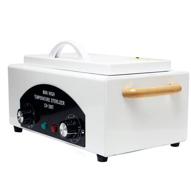 High Temperature Sterilizer For Nail Tools autoclave dental sterilizer- Hot Air Disinfection With Removable Stainless Steel Tank