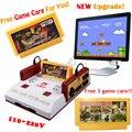 Novo Jogo De Vídeo Game Console Subor D99 Clássico Família TV vídeo consolas de jogos do jogador com livre 400 IN1 + 500 IN1 jogos cartões