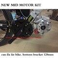 Último modelo de kit de bicicleta eléctrica motor mediados puede fijar bicicleta grasa