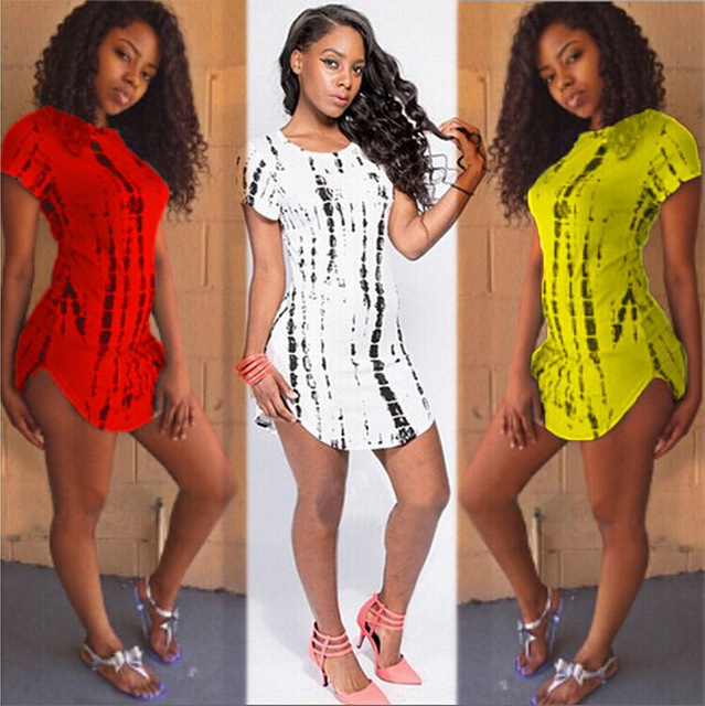 Jamaican Beach Party Short Dresses