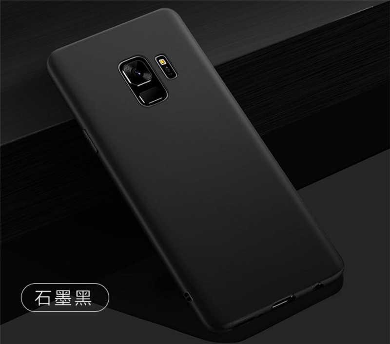 Casos Matte Para Samsung Galaxy A3 A5 A7 J7 J5 J3 2016 2017 J2 J5 J7 prime S6 S7 borda S8 S9 Plus Nota 8 C5 Pro capa de silicone macio
