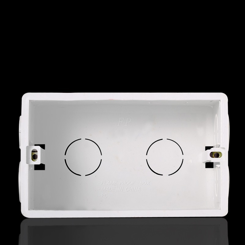 146 type cassette bottom box British standard European standard switch socket panel offline box wiring box junction box