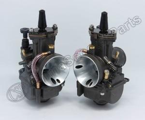 Image 2 - PWK PWK34 Carburetor 34 34MM Dual Set For Yamaha XS650 Keihin Carb
