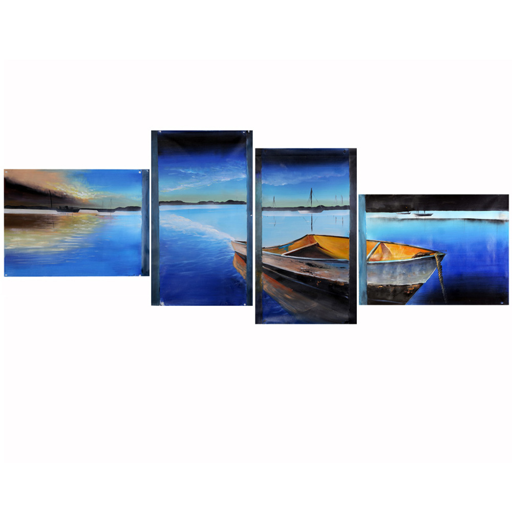 4pcs unframed hand painted canvas oil paintings poster - Cuadros en lienzo ...