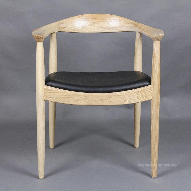 Высококачественные однотонные деревянные гостиничные стулья, панельные стулья, кресло VIP President