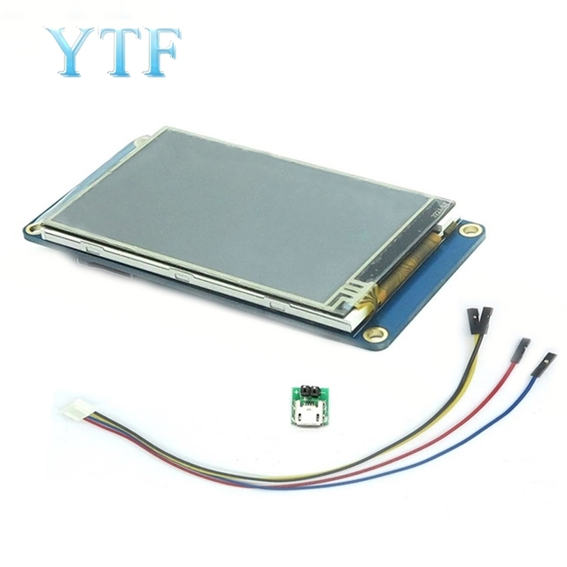 """3.2 """"Nextion HMI Intelligente Smart USART Seriale UART Touch TFT LCD Modulo di Visualizzazione del Pannello"""