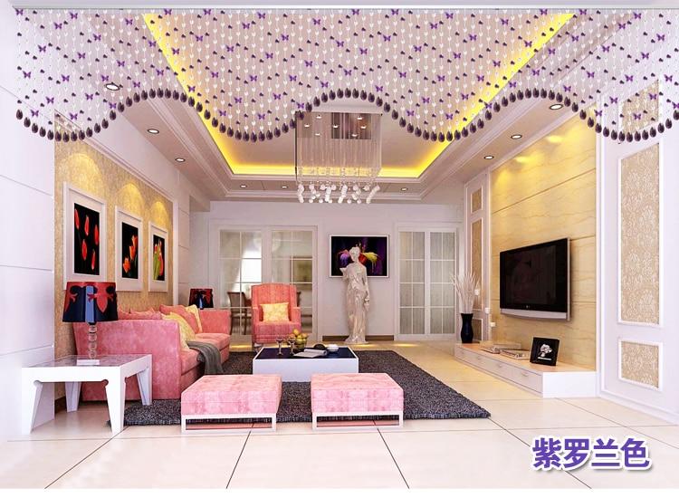 Aliexpress.com : Buy Butterfly Crystal bead curtain blind decorat ...