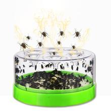 Reusable Klar Grün Tötung Obst Fliegenfänger Fliegen Mörder Fliegen Attractants Enthalten Pulver Köder Falle Destroyer Tisch
