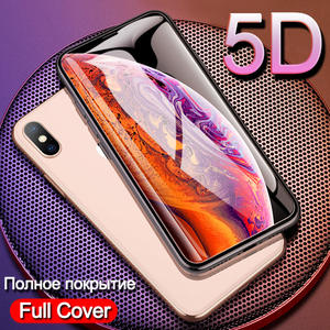 5D Cover Tempered Glass for iPhone XS MAX Glass on iPhone XR Screen Protector Phone