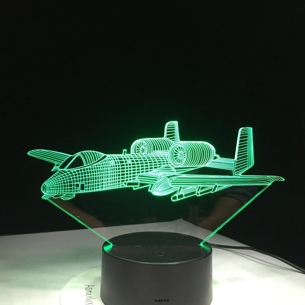 Baby Slaapkamer Te Koop.Kopen Goedkoop Oorlog Vliegtuig Vliegen Bureaulamp Baby Slaapkamer