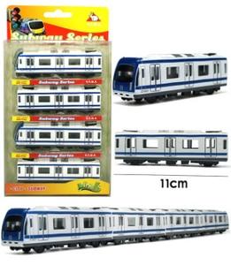 Image 3 - Modelo de coche de Metal en miniatura para niños, juguete de simulación de tren de 44,5 cm de largo, modelo de coche de Metal fundido a presión, colección de juguetes de bolsillo