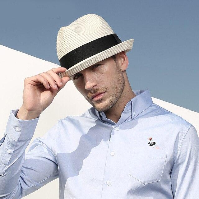Sedancasesa-chapeaux de soleil pour hommes et femmes   Nouveaux chapeaux de soleil 2020 à la mode, casquettes unisexes pour lété, casquettes visière, chapeaux de plage en paille pour hommes