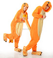 Pokemon Charmander Costume (no sliper) for Adult Cartoon Anime Cosplay Onesies Pajamas  Jumpsuit  Hoodies for Halloween Carnival