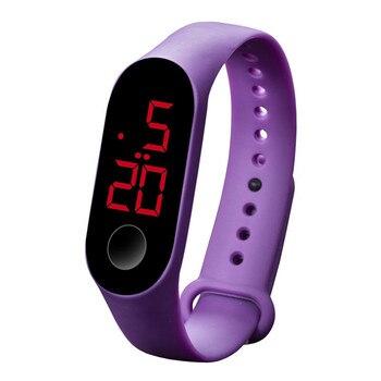LED Ηλεκτρονικό Αθλητικό ρολόι unisex με αισθητήρα φωτεινότητας Ρολόγια Αξεσουάρ MSOW