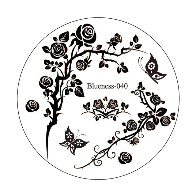 Aliexpress.com : Buy 3D Flower Image Design Polish Printing Stamp ...