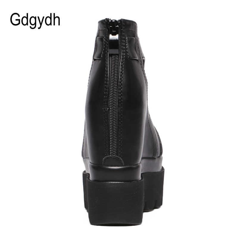 Gdgydh Peep Toe Bahar Kadın Pompaları Moda Fermuar Kalın Yüksek Topuklu Ayakkabılar Kadın Bayanlar Platformu Takozlar Yaz Ayakkabı Damla Nakliye