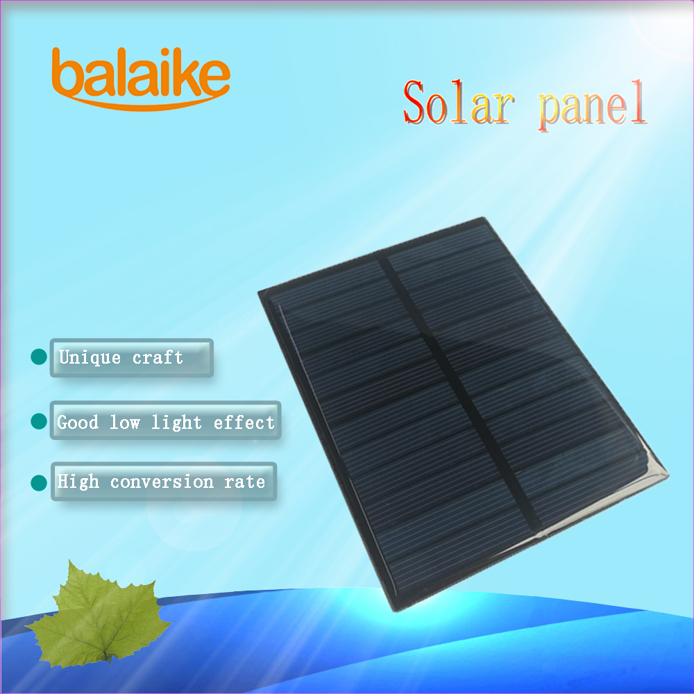 <font><b>Solar</b></font> <font><b>Panel</b></font> 0.2W <font><b>1W</b></font> 1.2W 1.38W 1.4W 1.5W 1.8W <font><b>Solar</b></font> System For DIY Battery Cell Phone Chargers DIY toy LED light 5V 5.5V <font><b>6V</b></font> 12V image