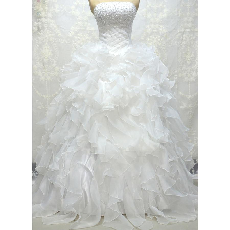 LOVSKYLINE Φτηνές στο νυφικό φόρεμα Vestidos De - Γαμήλια φορέματα - Φωτογραφία 3
