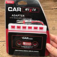 160*130*60mm Auto Audio Band Kassette Adapter 3,5mm Klinke AUX Für Mp3 CD Radio Konverter USB Zu Mp3 Voiture Adapter H0204