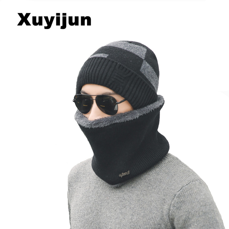 XUYIJUN 2017 Fashion Cap Hot Skullies Beanies Winter Hat for Men Women Unisex Hat Cap Woolen Hat Knit Hat Outdoor Sports Caps skullies