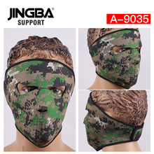 JINGBA SUPPORT Riding bike mask Windproof Full Face Facemask Facemask Outdoor sport ski mask Halloween Skull Cool Mask wholesale цены